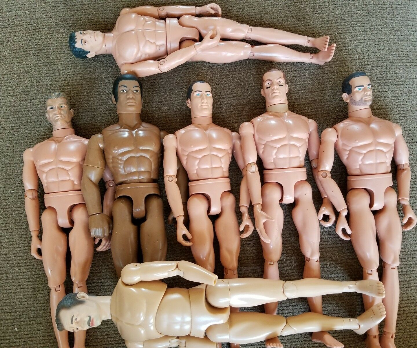 1 6 ONE DRAGON BODY ALL OTHERS GI JOE. ACTION FIGURE BODIES.