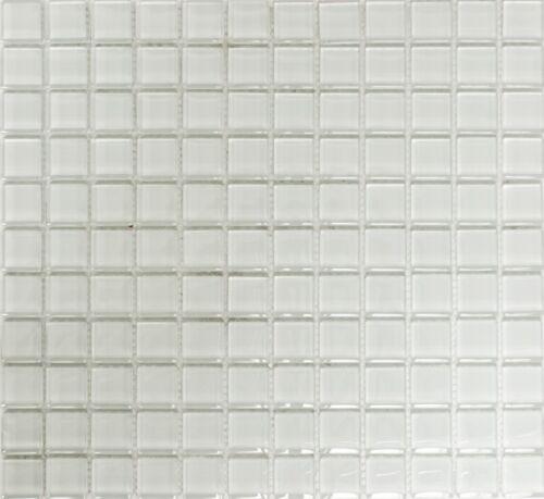 Glasmosaik Blanc grünstich mur de douche carrelage Miroir De Cuisine Mur Arrière 70-0102/_b