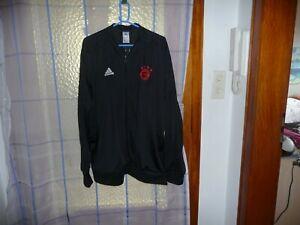 Details zu adidas Trainingsanzug schwarz 3XL FC Bayern München Logo