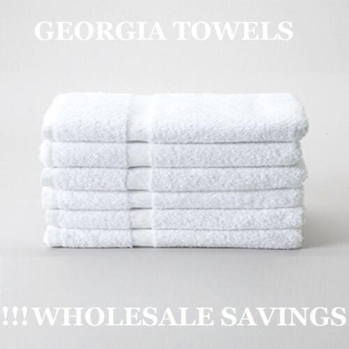 24 new white hand towels hospitality grade 10 single 2.90lb per dozen