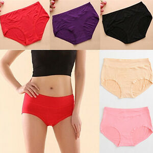 HO-Women-039-s-Wonderful-Sexy-Bamboo-Fiber-Antibacterial-Underpants-Briefs-Underwea
