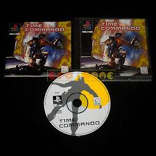 TIME COMMANDO Ps1 Versione Italiana 1ª Edizione ••••• COMPLETO