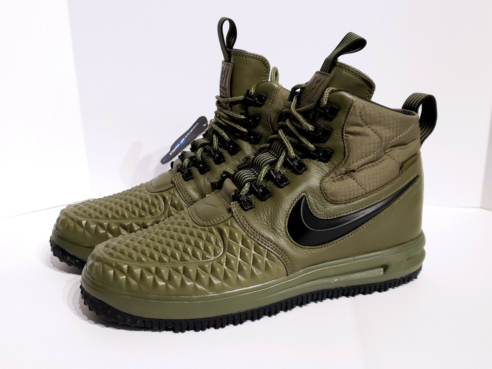 Nike LF1 Duckboot Duckboot Duckboot 17 Medium Olive Green Air Force One 916682-202 Mens SZ 10.5 0c1e30