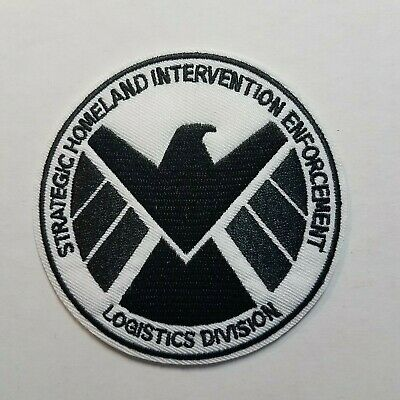 Agents of Shield Costume//Cosplay Green /& Black Patch embroidered Set 3 1//2 inche