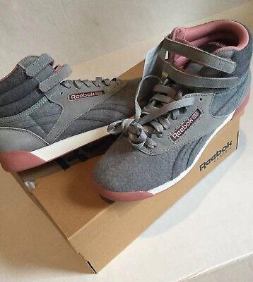 Reebok Classic Freestyle gray wool Hi Junior Youth CN3362 Laine Filles 5.5 6.5 | eBay