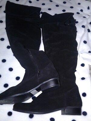 Tamaris, Velour Overknees Stiefel, Größe 39, 1 A Zustand | eBay