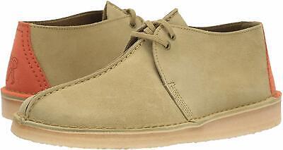 Men's Shoes Clarks DESERT TREK Suede Lace Up Boots 44179 KHAKI | eBay