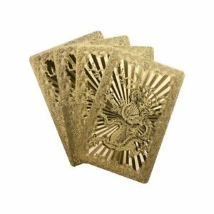 24K-Wasserdichte-Goldfolie-Uberzogene-Poker-Deck-Spielkarte-Set-Tisch-Spiel