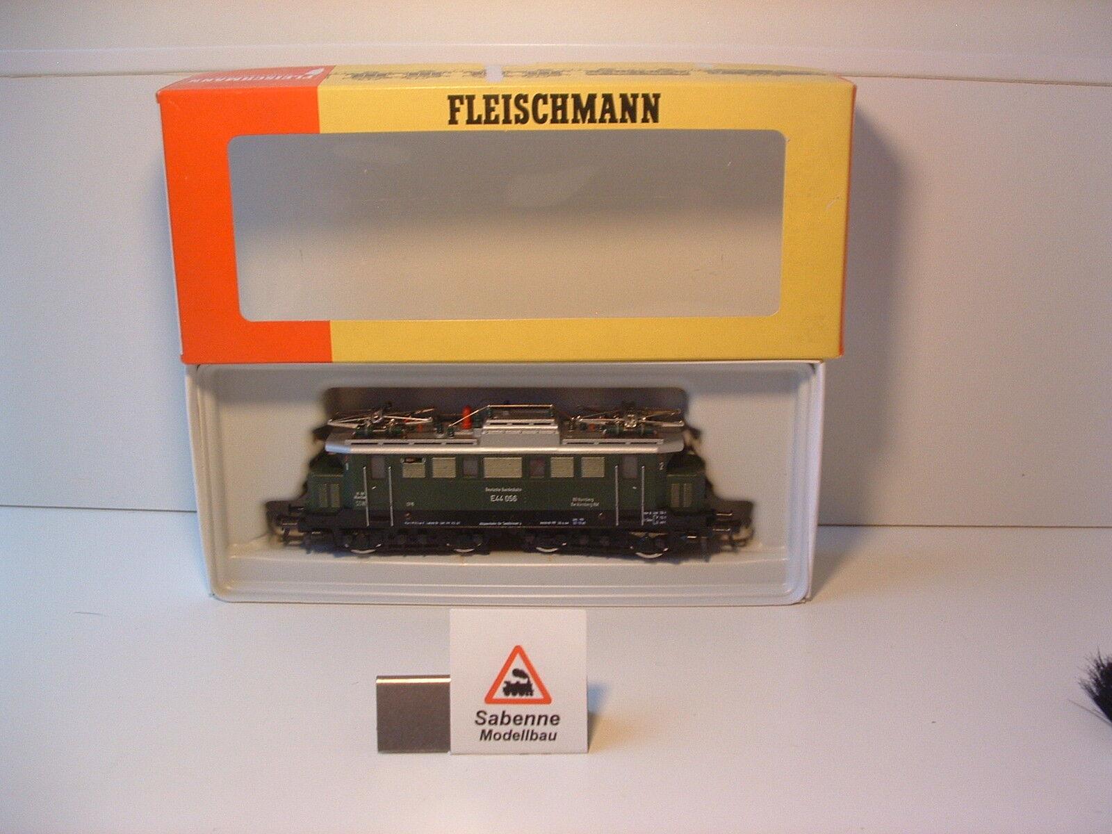 Fleischmann h0 4330 E-Lok BR e44 DB OVP m556 perfette condizioni
