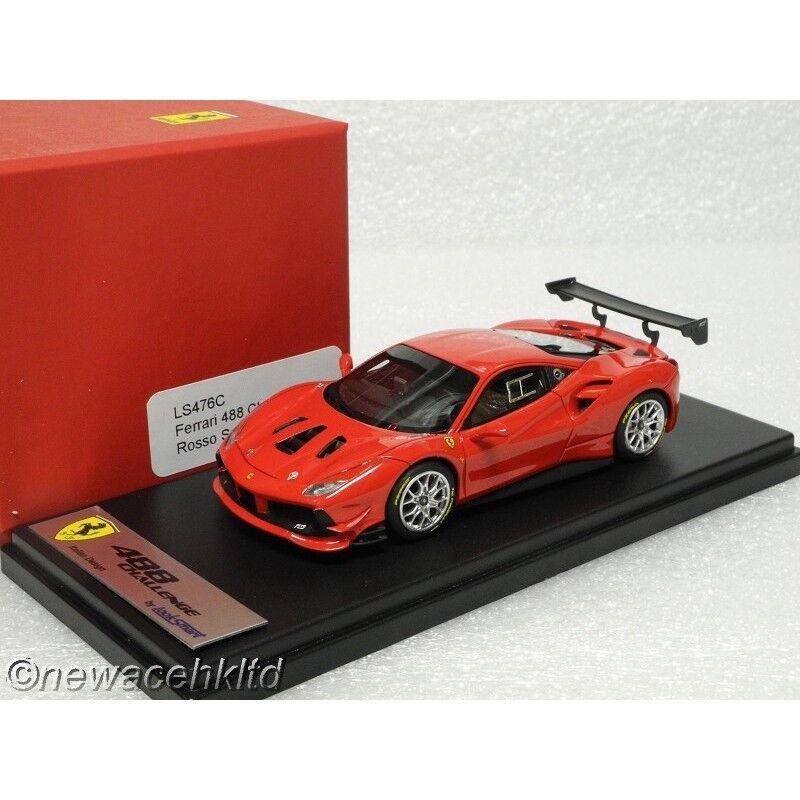 Ferrari 488 Challenge rouge Scuderia Lookintelligent Modèle  1 43  LS476C  Nouvelle liste