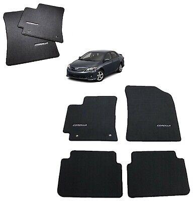2009 2013 Corolla Floor Mats Carpet Charcoal Genuine Toyota