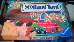 Scotland Yard by Ravensburger 1991 detective sleuth board game for all COMPLETE
