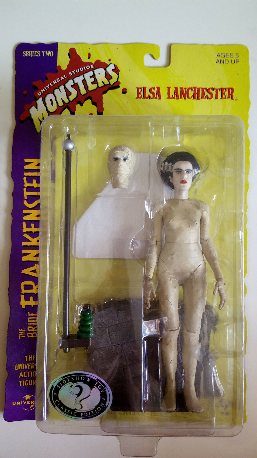 The Bride of Frankenstein Elsa Lanchester di Sideshow TOY  neu & OVP   serie Two