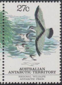 1983-AAT-Australia-Post-Design-Set-MNH-Antarctic-Regional-Wildlife