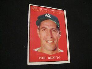 1961 Phil Rizzuto Topps #471 Baseball card