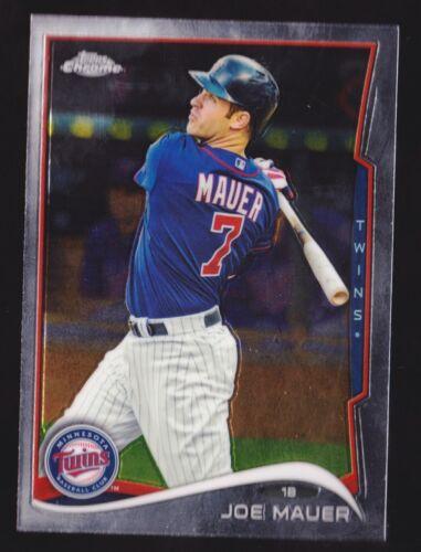 2014 Topps Chrome #144 Joe Mauer NM-MT