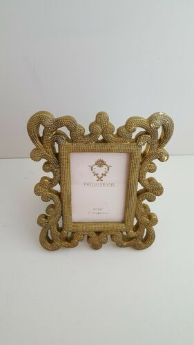 Style Vintage Gold Dot MASSIF CADRE PHOTO Home Decor Photographie taille 4/'x6/'