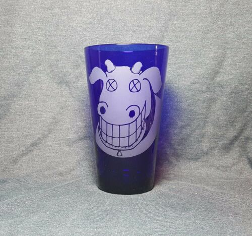 The Dead Milkmen Cow Sandblasted Etched Pint Glass