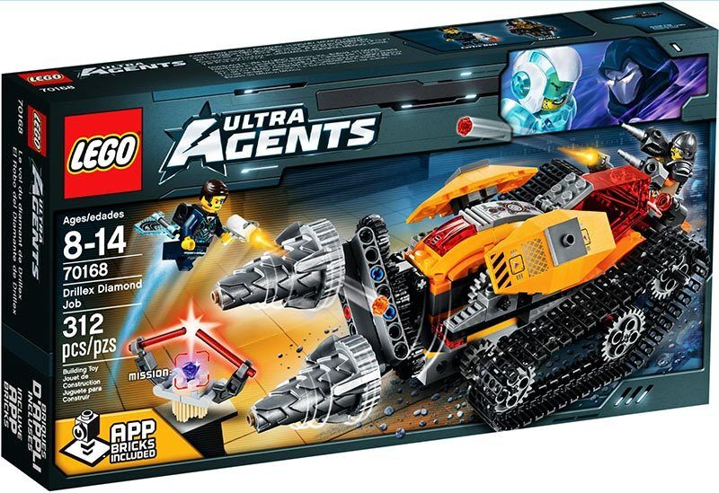 LEGO Ultra Agents Agents Agents 70168  Drillex Diamond Job - Brand NEW in Box 832cd8