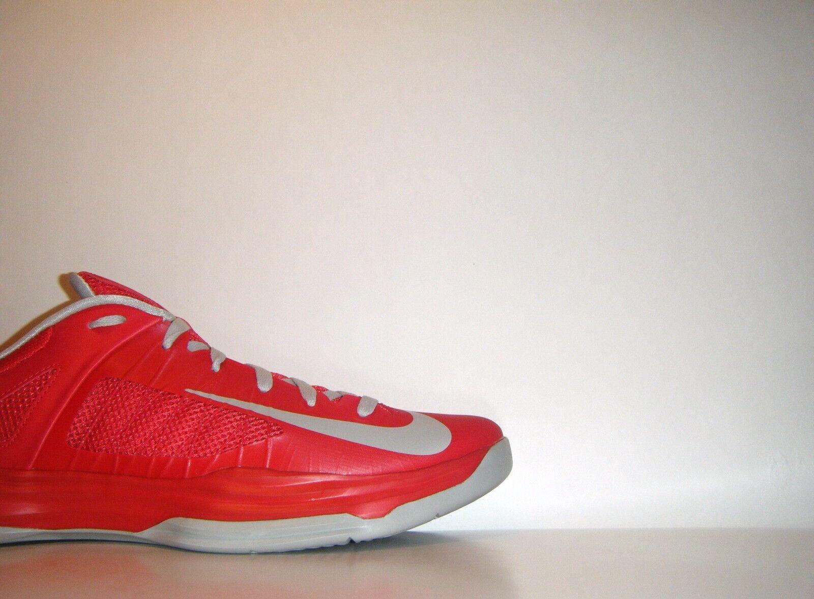 Nike Zoom Hyperdunk Low 2012 Red Grey Sz. 13 Olympic PE Sample 554671-603 KD