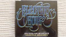Electric Boys Groovus Maximus (Very Rare/Near Mint) UK 4 Track CD Promo