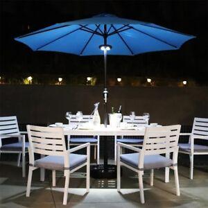 8Ft-9Ft-Outdoor-Patio-Umbrella-Market-Table-Yard-Garden-Crank-Steel-Tilt-Shade