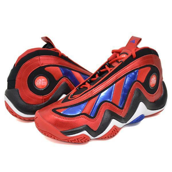 Adidas Crazy 97 Mens 76ers  Basketball Sneakers  Red/Black/Blue/White G66930