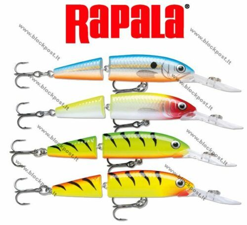 12cm Different colors JDHJ12 JDHJ08 Rapala Jointed Deep Husky Jerk 8cm.
