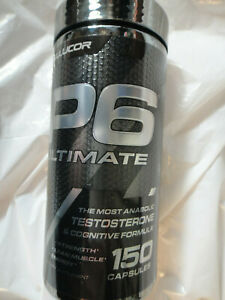 CELLUCOR P6 ULTIMATE GH SUPPORT FORMULA 180 CAPSULES EXP.06//2021