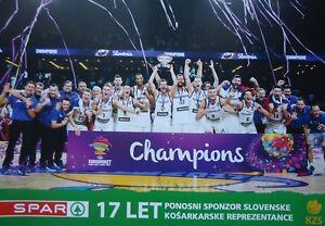 Affiche Basket Champions 2017 FIBA Euro Basket SLOVENIA SLOVÉNIE  </span>