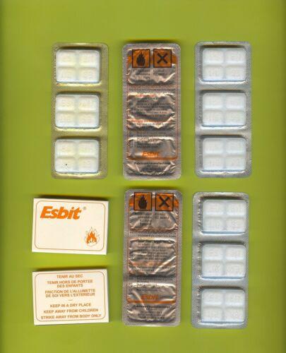 réchaud//survie Lot 5 pastilles alcool solide
