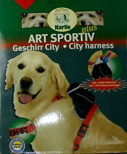 City-Art-Hundegeschirr-mit-Packtasche-Rucksack-Hunderucksack-Kotbeutel-S