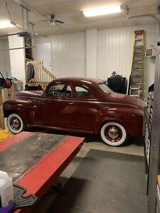 Plymouth coupé 1941 (échange possible)