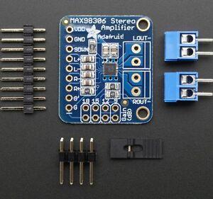 Adafruit-Stereo-3-7w-clase-D-Amplificador-de-audio-ganancia