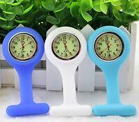 Bestgrewâ® Set Of 3 High Quality Unisex Nurses Lapel Watch Silicone (infection C