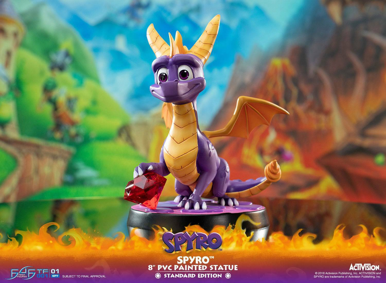 Spyro the Dragon statue Spyro F4F First 4 Figures