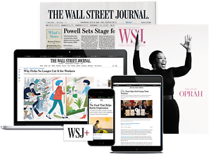 Wall Street Journal Subscription 1-Year *Print and Online* WSJ New or Renewal