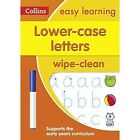 Collins Easy Learning Preschool - Lower Case Letters Age 3-5 Wipe Clean Activity Book by Collins Easy Learning (Other book format, 2017)
