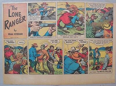 Lone Ranger Sunday Page by Fran Striker and Charles Flanders from 5//26//1940