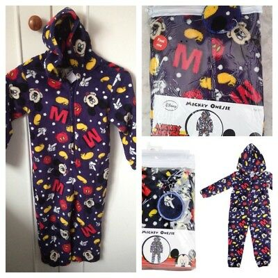 Mickey Mouse enfants One-piece//Jump suite//Pyjama Âge 4-5