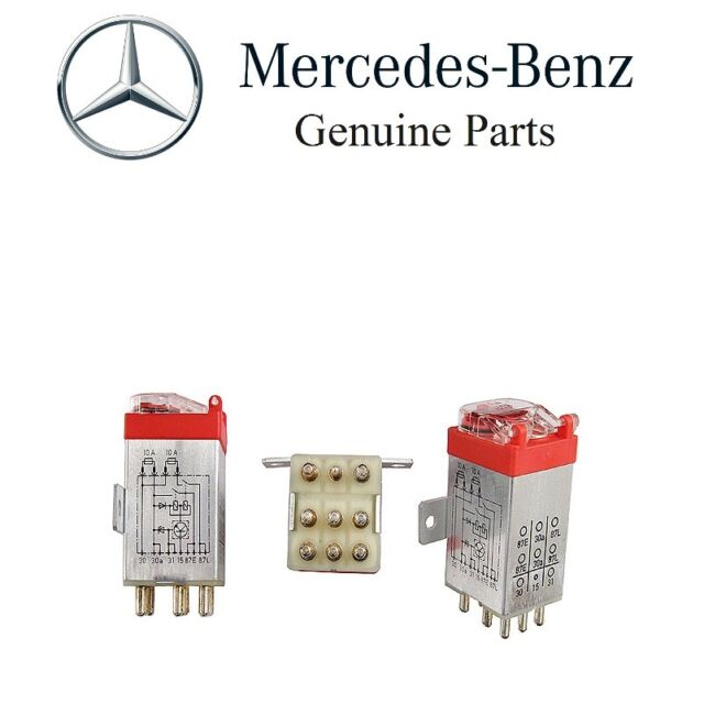 MERCEDES Original Overload Protection Relay A2015403745 eBay
