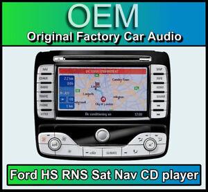 ford mondeo gps autoradio ford hs rns navigation lecteur cd radio carte disque ebay. Black Bedroom Furniture Sets. Home Design Ideas