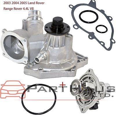 Water Pump W// Gasket for 2004-2005 Land Rover Range Rover 4.4L V8 DOHC