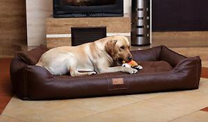 Lit Maddox Vip Dog de Tierlando Canapé Velour / Cuir S - XL 70 150 cm