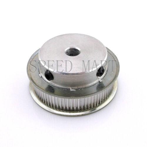 2m MXL Belt 2 x MXL Type Timing Pulley 80 Teeth 8mm Bore for Stepper Motor