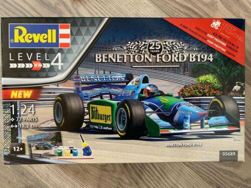 """++ Revell Geschenkset 25th Anniv /""""Benetton Ford B194/"""" 1:24 05689"""