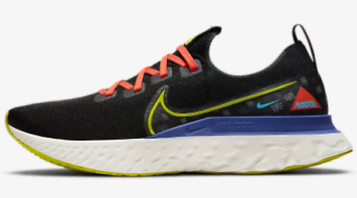 Details about Nike React Infinity Run Flyknit A.I.R. Chaz Bear Men's Sneakers Running Trainers