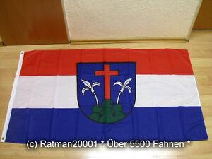 Flaggen Fahne Flagge Bückeburg Digitaldruck 90 x 150 cm