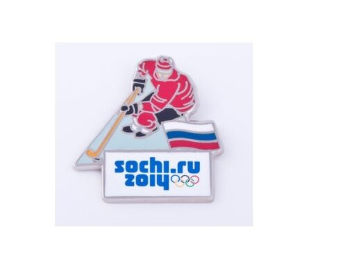 SALE  OR BEST OFFER !! Sochi 2014 Olympic pin badge hockey forward