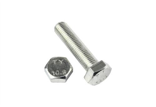25-80 mm 2 Stk DIN 961 Sechskantschraube M14x1,5 Feingewinde bis Kopf Stahl
